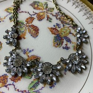 New Francesca's Antique Gold Statement Necklace